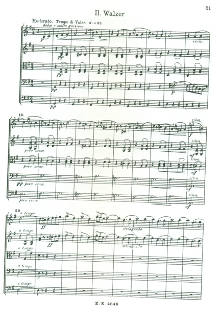 samerhatoum score sample serenade 2nd movement original