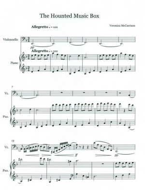 samerhatoum veronica mccarrison the haunted music box score page1 800px